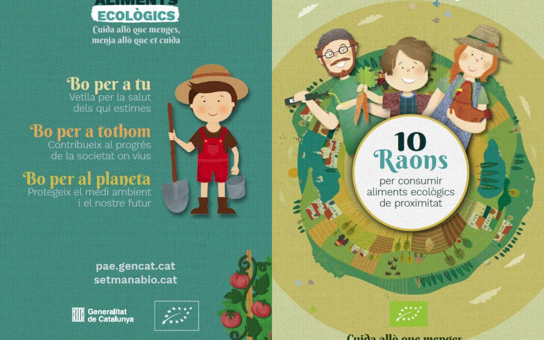 10 raons per comsumir aliments ecològics de proximitat.