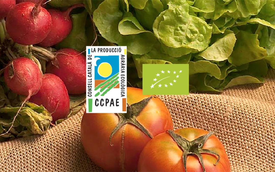 Aliments Ecològics. Etiquetatge i garantia